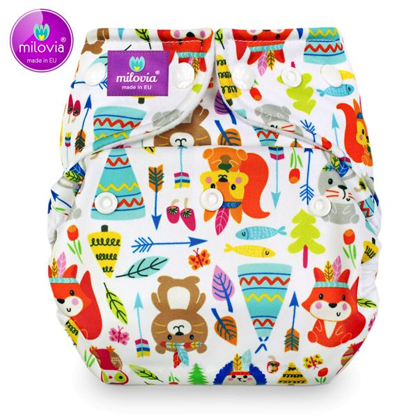 Milovia - Coolmax Pocketwindel (One Size) - Tipi Friends
