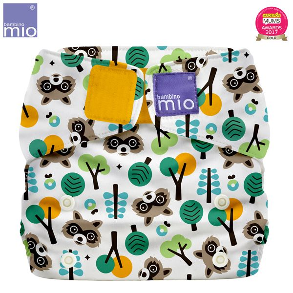 Bambino Mio - MioSolo (All-in-One) One Size Windel - Raccoon Retreat