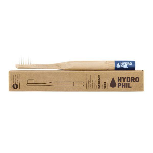 Hydrophil - Bambus-Zahnbürste - plastikfreie Borsten (Kinder) Weich