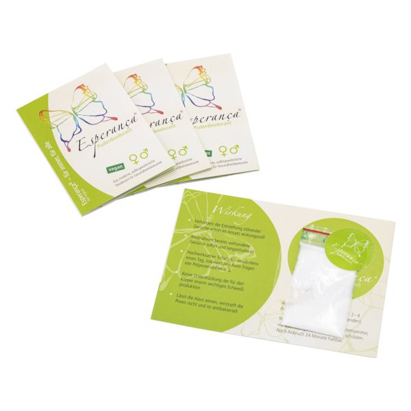 Esperanca - Deodorant Pulver - Probe (4g)