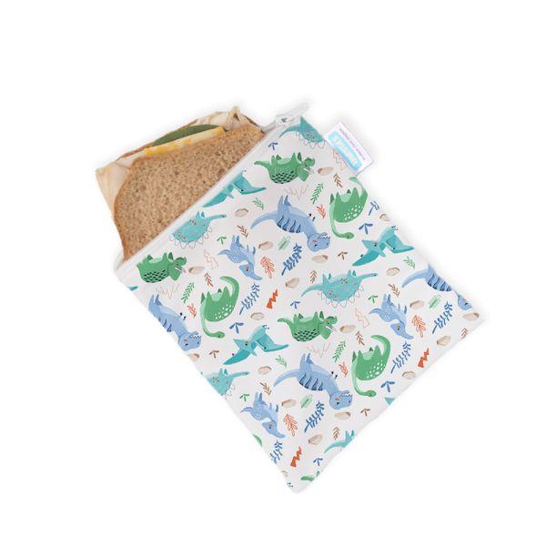 Thirsties - Sandwich & Snack Bag (Mini Wetbag) mit Reißverschluss (16x17cm)