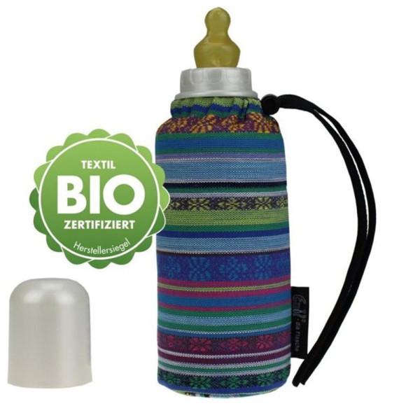 Emil - Babyflasche (250ml) - Set - Aztek (Bio-Baumwoll-Überzug)