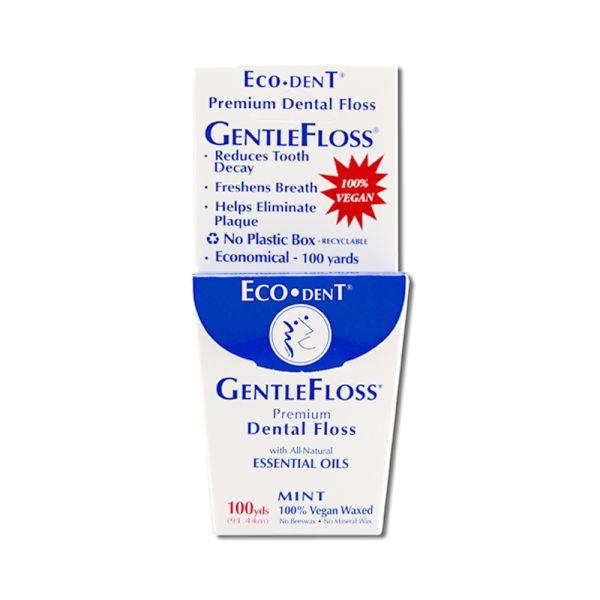Eco Dent - vegane & plastikfreie Zahnseide (Minze)