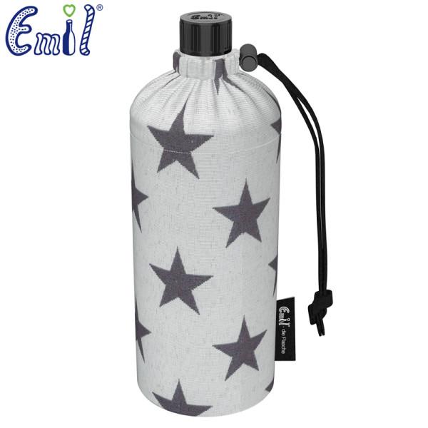 Emil die Flasche (600ml) - Komplettset (Bio-Baumwolle-Überzug) - Sterne