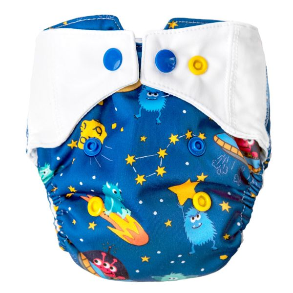 Mommy Mouse - Überhose (Newborn, One Size, XL) - Monster