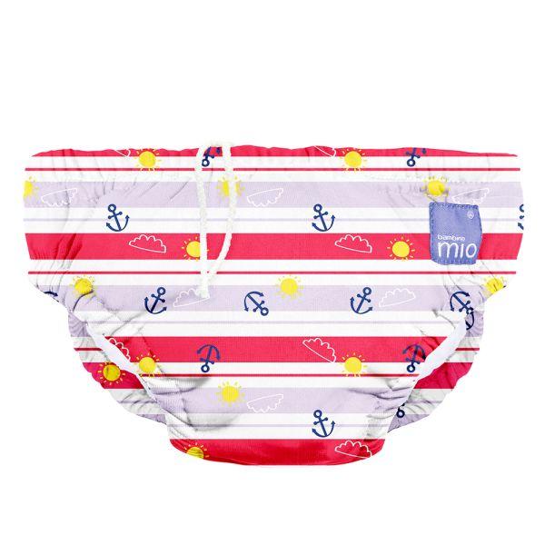 Bambino Mio - waschbare Schwimmwindel - Anchors Away (S-XL)