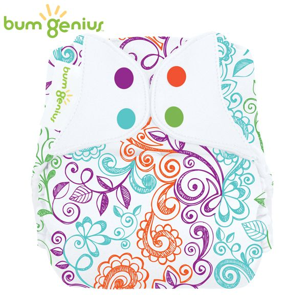 BumGenius Freetime One Size (AIO) - Lovelace