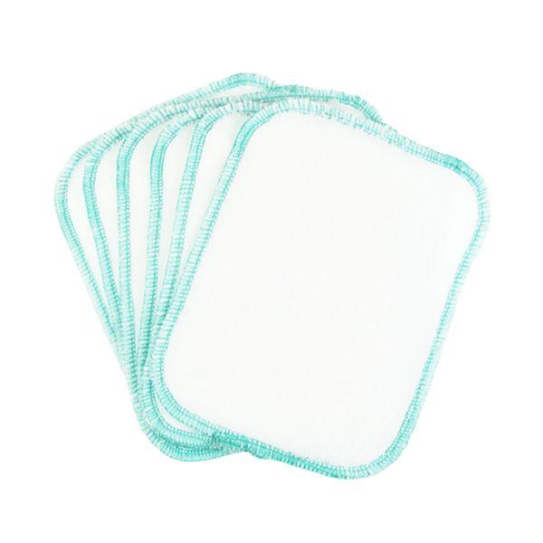 BilliesBox - Waschbare Tücher (Waschlappen) - Feuchttücher- 15x13cm - (6 Stück)