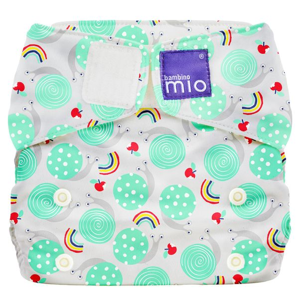 Bambino Mio - MioSolo (All-in-One) One Size Windel - Snail Surprise