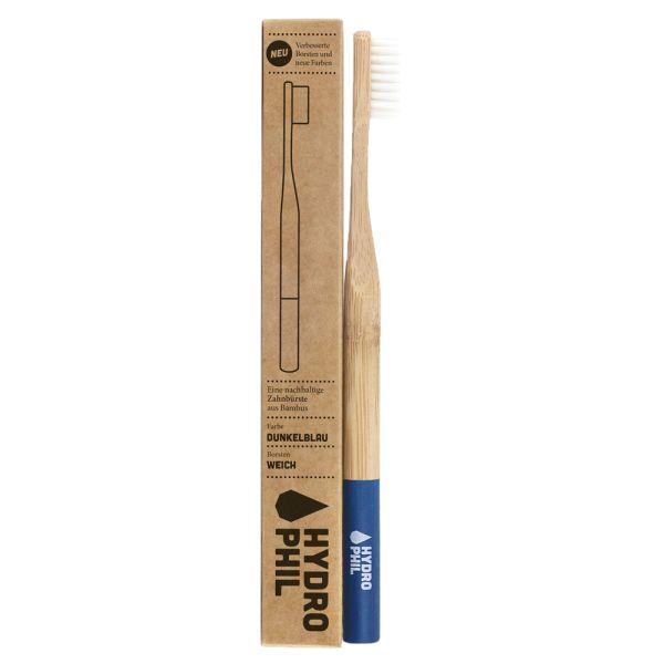 Hydrophil - Bambus-Zahnbürsten - plastikfreie Borsten - Erwachsene (weich)