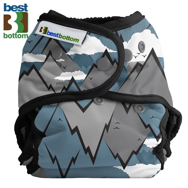 Best Bottom Diapers (PUL) Überhosen - BIGGER/XL (Druckies) - Summit