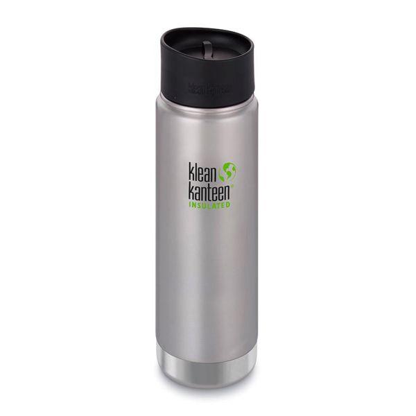 Klean Kanteen - Wide (ISO-Trinkflasche) - Café Cap 2.0 - Vakuumisoliert (592 ml)