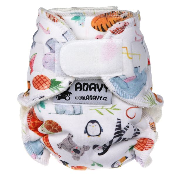 Anavy Höschenwindeln - Arche Noah - Newborn (2-6 kg)
