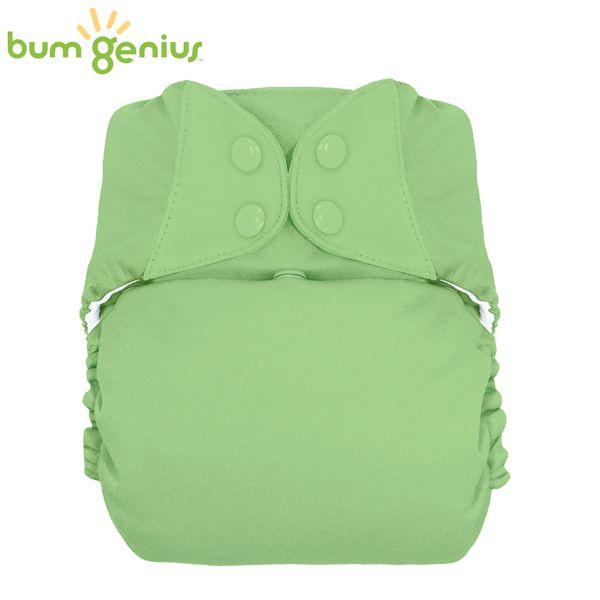 BumGenius XXL-Pocketwindel - BIG (16-32 kg) - Grasshopper (Grasgrün)