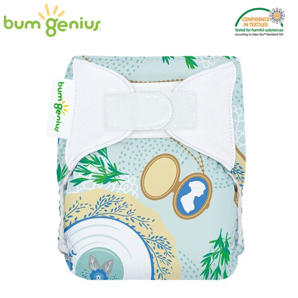 BumGenius Littles Newborn (AIO) - Austen (Limited Edition)