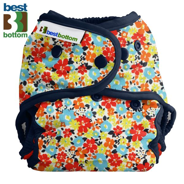 Best Bottom Diapers - Baumwoll Überhosen - One Size - Fancy Pants - (Druckies)