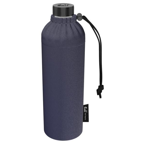 Emil die Flasche (750ml) - Komplettset (Bio-Baumwolle-Überzug) Weithals - Jeans