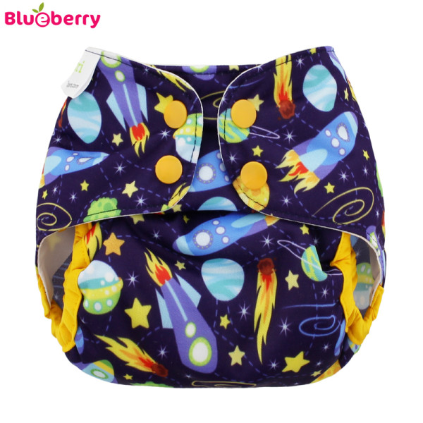 Blueberry - Capri 2.0 Überhose (Prefold) - Space