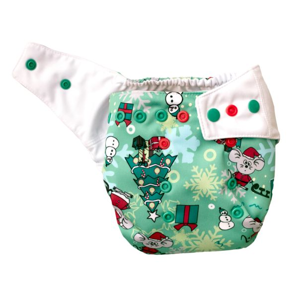 Mommy Mouse - SIO-Überhose (One Size) - Christmas