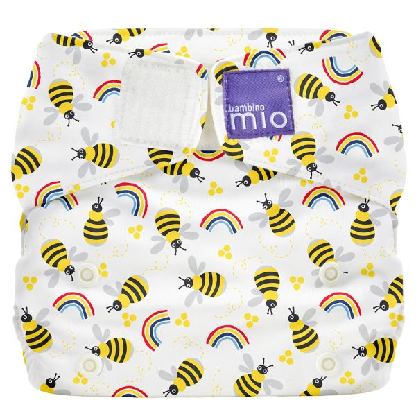 Bambino Mio - MioSolo (All-in-One) One Size Windel - Honeybee Hive