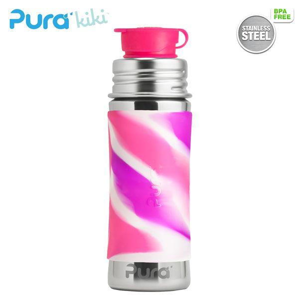 PuraSport™ Flasche 300ml - BigMouth™ Aufsatz (inkl. Silikonüberzug)