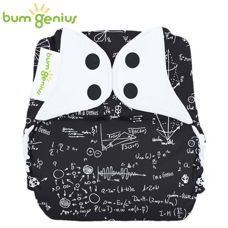 BumGenius Freetime One Size (AIO) - Albert (Muster)