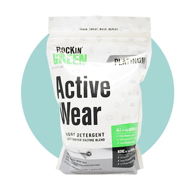 Rockin Green Active Wear (Waschmittel für Sport- und Outdoorbekleidung) 1,3 kg