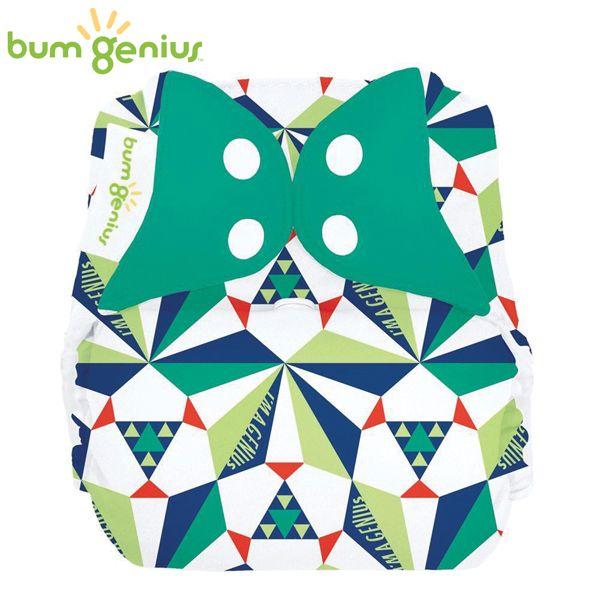 BumGenius V5.0 Pocketwindel One Size - Sierpinski (Muster)