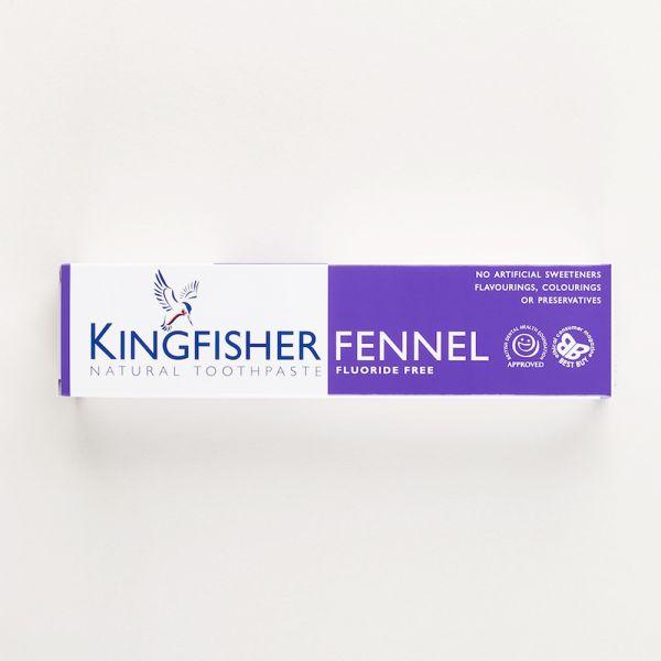 Kingfisher - vegane Zahnpasta (ohne Fluorid) - nur natürliche Zutaten