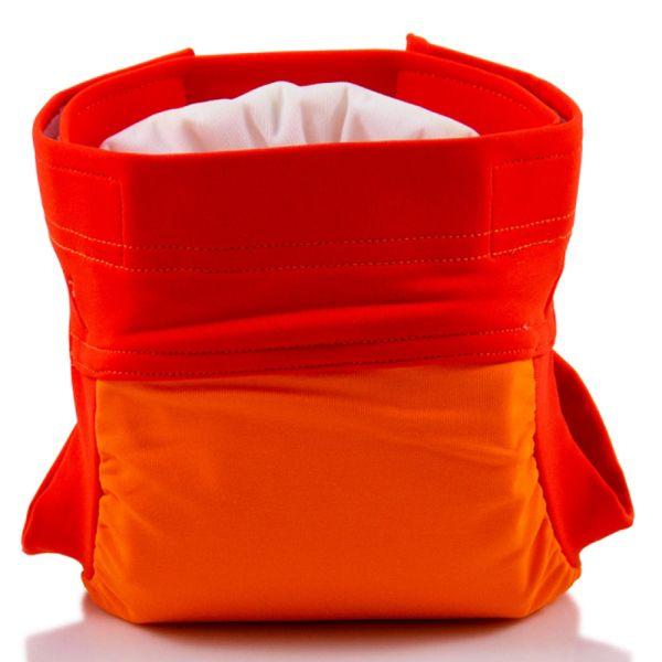"Culla di Teby (AI3) - ""Soft Touch"" Mikrofaser Überhose - (EINZELN) - Orange"