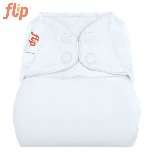 Flip Überhose One Size (Druckies) - Weiß