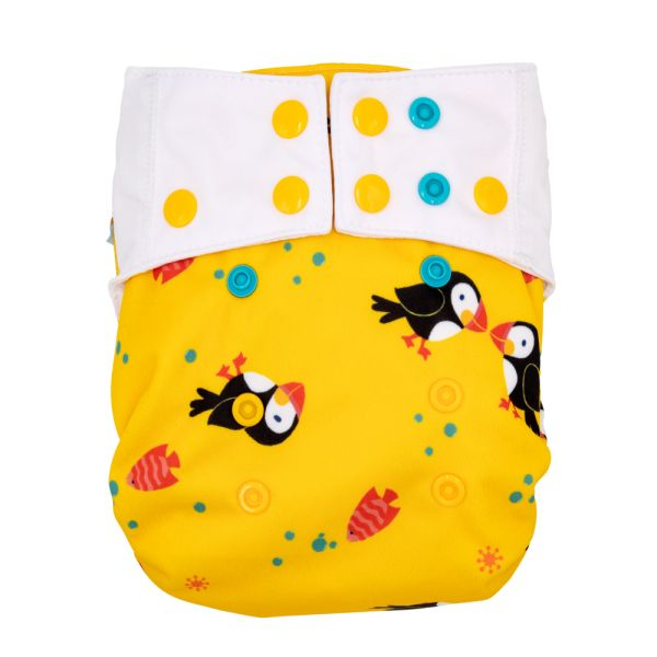 Mommy Mouse - Überhose (Newborn, One Size, XL) - Puffins