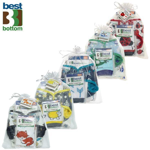 Best Bottom - Geschenk SET (Überhose / Baby Legs / Pucktuch)