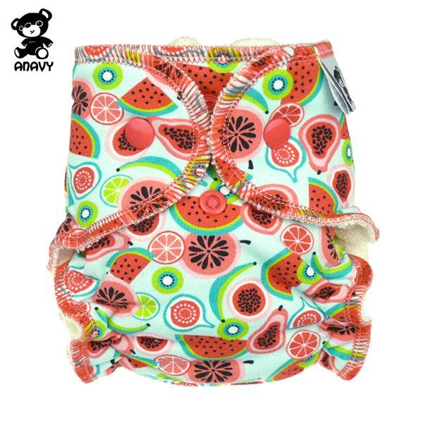 Anavy Höschenwindeln - Früchte - Newborn (2-6 kg)