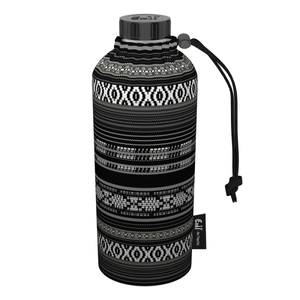 Emil die Flasche (400ml) - Komplettset (Bio-Baumwolle-Überzug) Weithals - Maya
