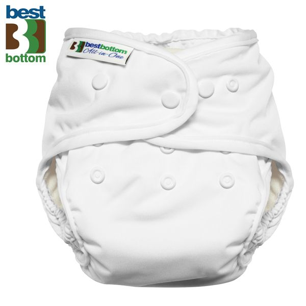 Best Bottom - Heavy Wetter AIO (One Size) - Weiß