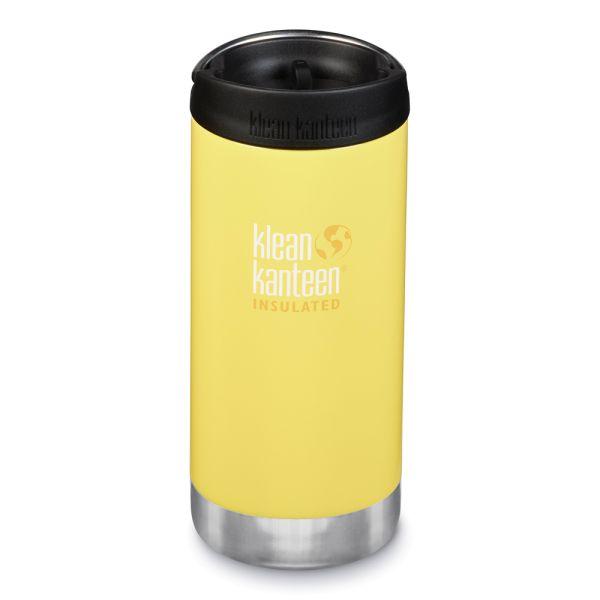 Klean Kanteen - TKWide (ISO-Trinkflasche) - Café Cap 2019 - Vakuumisoliert (355 ml)