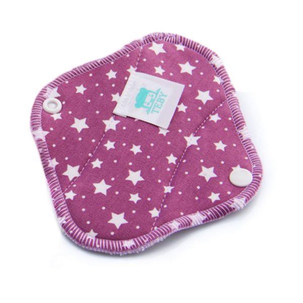 Teby Pink - mini Slipeinlage (Bio-Baumwoll-Velour)