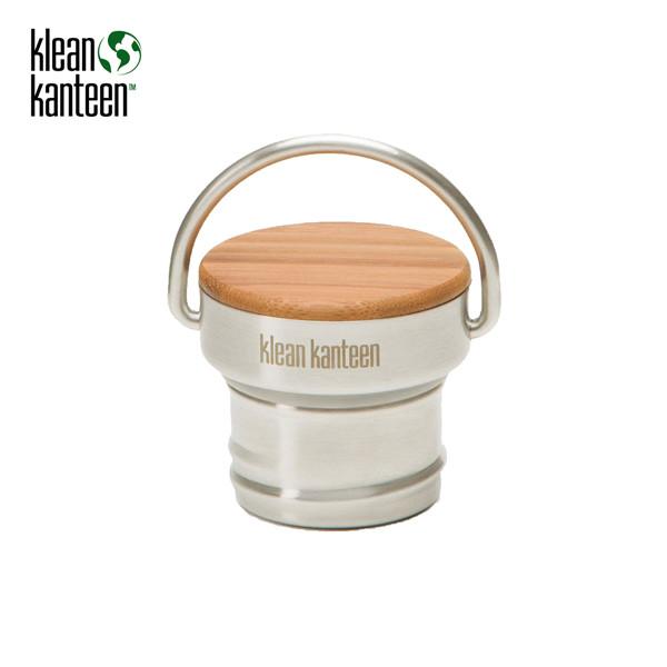 Klean Kanteen - Bamboo Cap (Bambus-Edelstahl-Deckel)