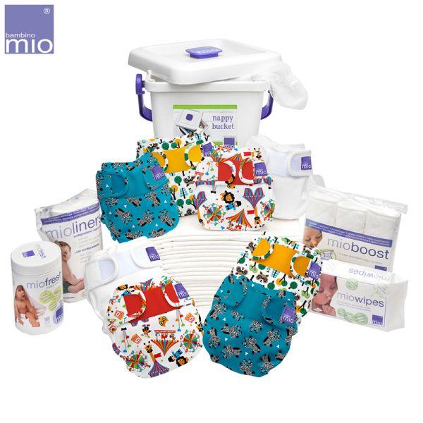 Bambino Mio - MioSoft Premium Komplettset (8x Überhosen, 20x Einlagen & extra Zubehör)