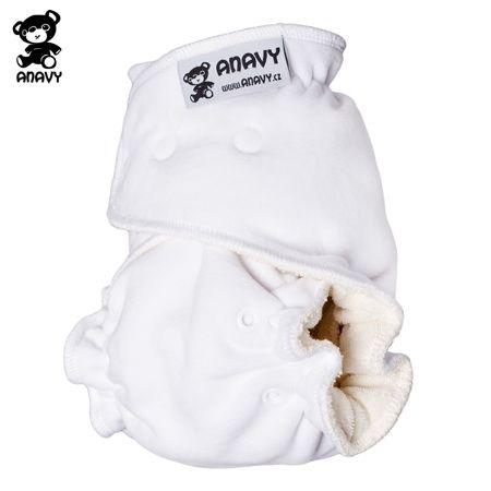 Anavy Höschenwindeln - Weiß - One Size (3,5-15 kg)
