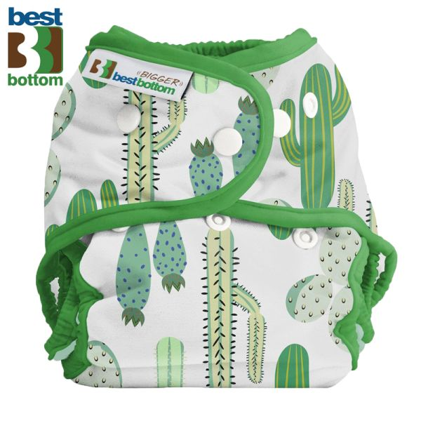 Best Bottom - Überhose (SIO) BIGGER (XL 5-20+ kg) - PUL - Prickly Cactus
