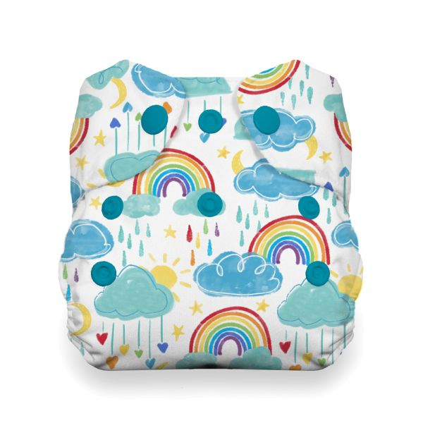 Thirsties - Natural AIO - Newborn (2-6 kg) - Rainbow