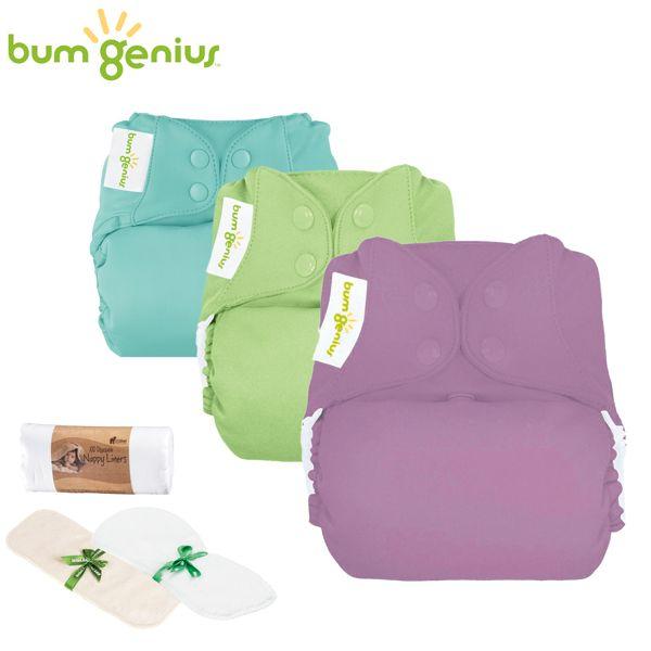 BumGenius - Mixed Paket (versch. Stoffwindeltypen)
