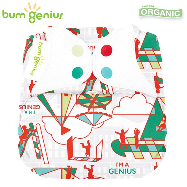 BumGenius Elemental V3.0 One Size (AIO) - Play (Muster)