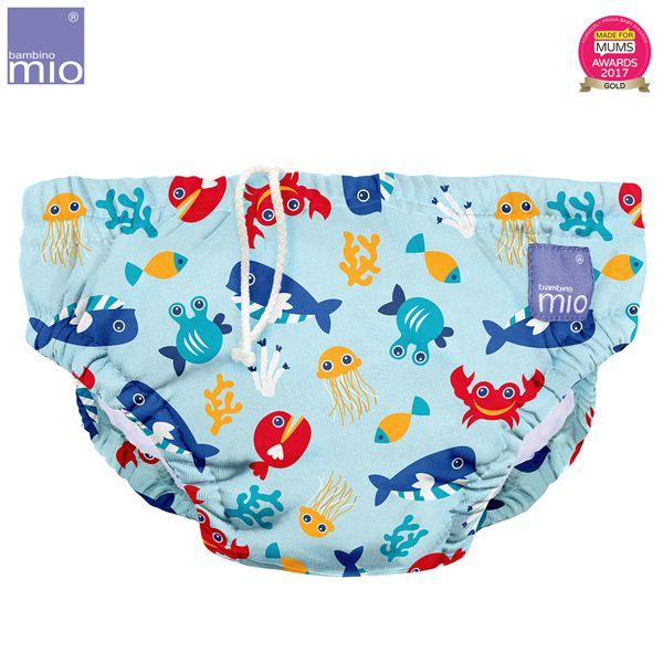 Bambino Mio - waschbare Schwimmwindel - Deep Sea Blue (S-XL)