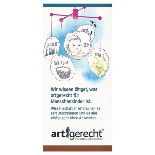 Flyer - www.artgerecht-projekt.de DIN Lang (je 50 Stück)