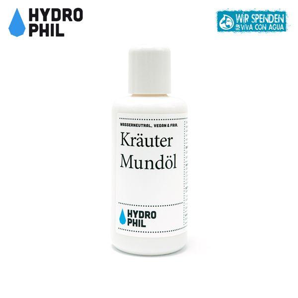 Hydrophil - Kräuter Mundöl (Mundspülung) - 100 ml
