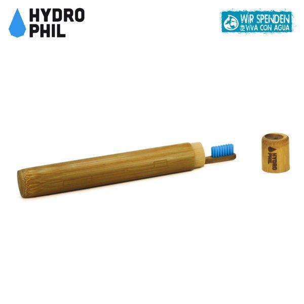 Hydrophil Bambus Etui für Zahnbürsten