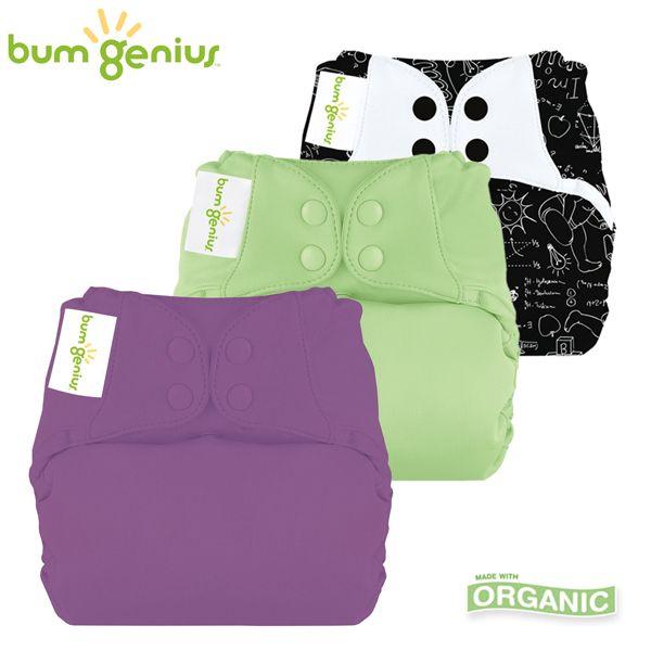 BumGenius Elemental One Size (AIO) - Spar Paket -